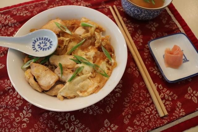 超美味的快手日料:Oyako Don 亲子�S饭
