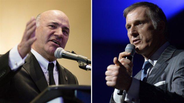 新保守党领袖可能是这两个人中的一个