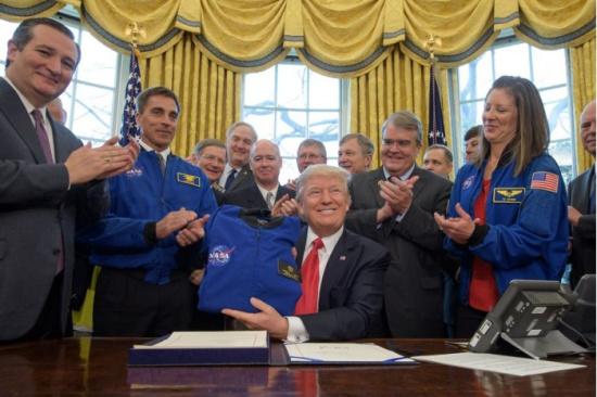 川普为NASA拨款195亿美元 欲将人类送上火星