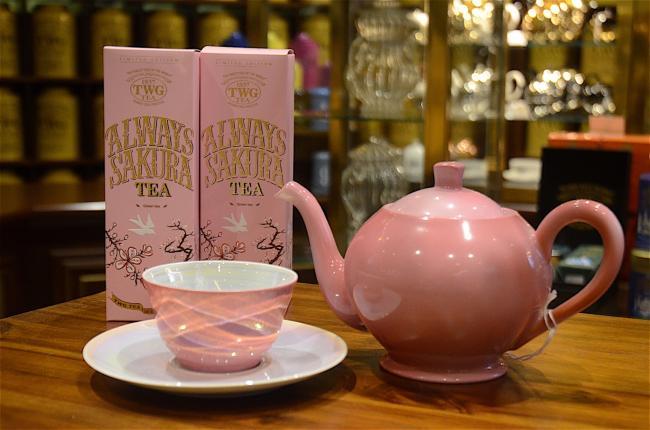 TWG Tea Salon:迎得春寒第一枝