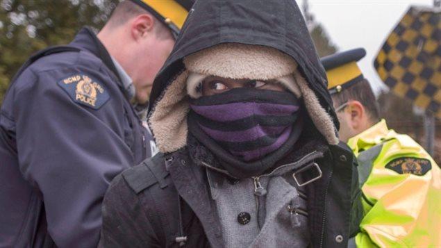 今年頭兩月加拿大已逮捕 1134名徒步越境者