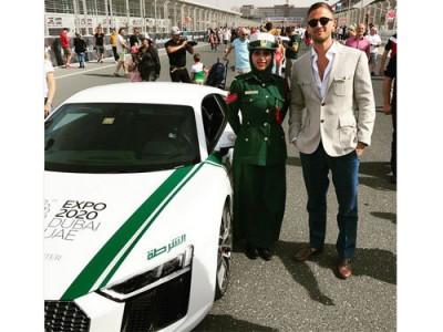 迪拜警车全球最快 每小时飙407公里