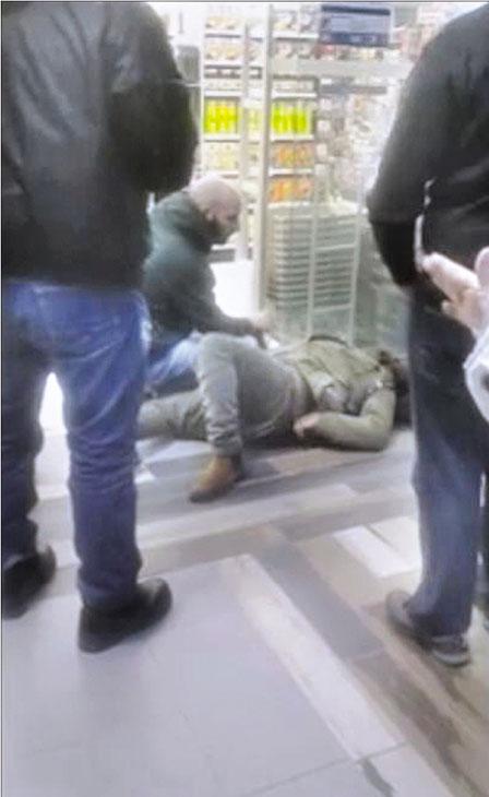 约大学生涉药房偷窃被拘控 遭保安打倒视频上网