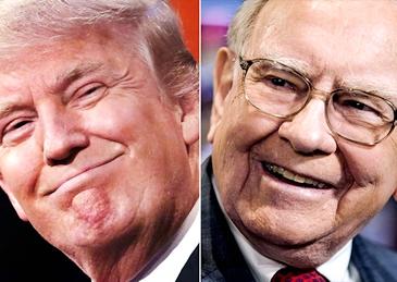 川普税改 巴菲特或可坐收几百亿美元