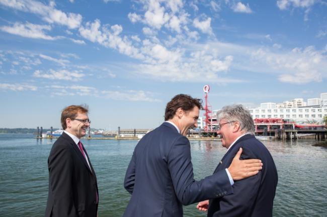 杜鲁多兑现竞选承诺 卑诗北部禁油轮航行