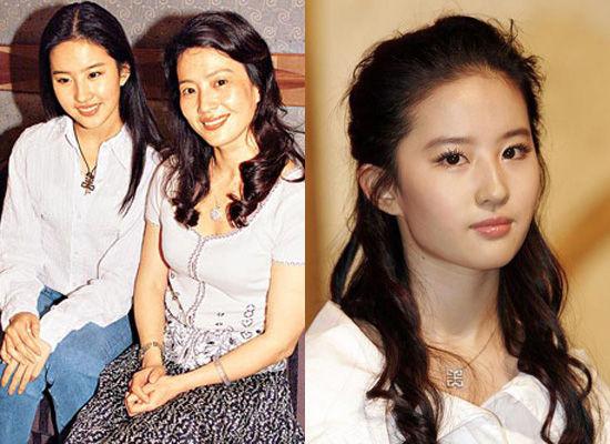 刘亦菲与父母吃饭被拍 爸爸被赞儒雅