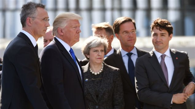 川普首秀北约峰会和G7峰会:特鲁多的使命和挑战