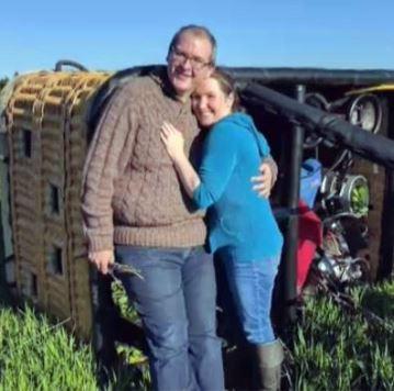 女友剛答應求婚 情侶乘坐的熱氣球意外墜毀