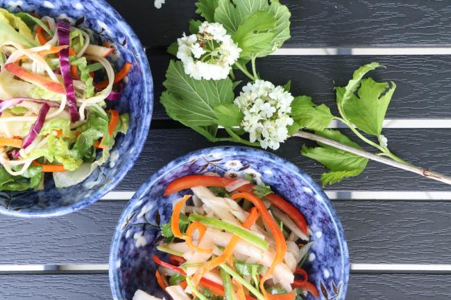 用一瓶醬料撩開你的沙拉胃 中式日式沙拉PK胃擂