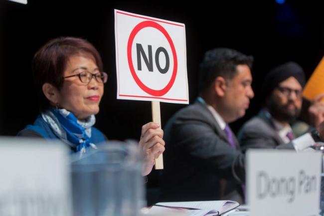 屈洁冰批NDP内阁:华裔竟无厅长职位 NDP忽视经贸