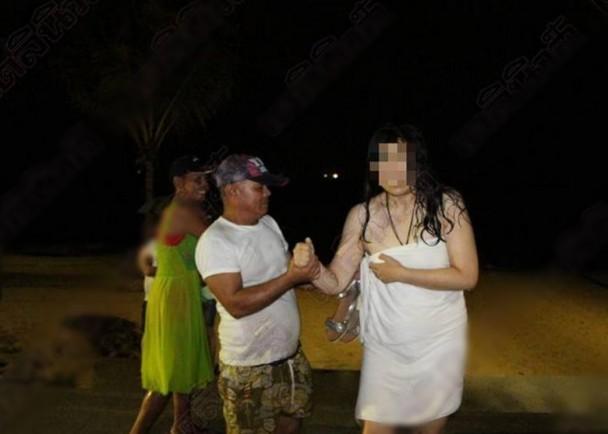 丈夫在外風流快活 中國女子在泰國深夜裸奔報復