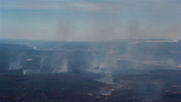 烟雾弥漫 大温空气质量频频报警 进入高风险级别