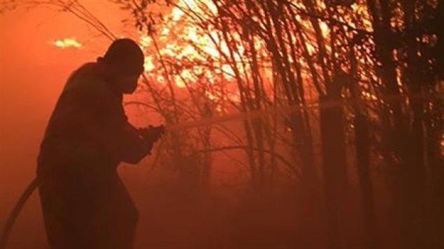 BC省林火继续 紧急状态至少持续到8月18日