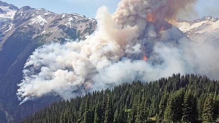 大温空气质量预计最快周四改善 周日新添15处山火