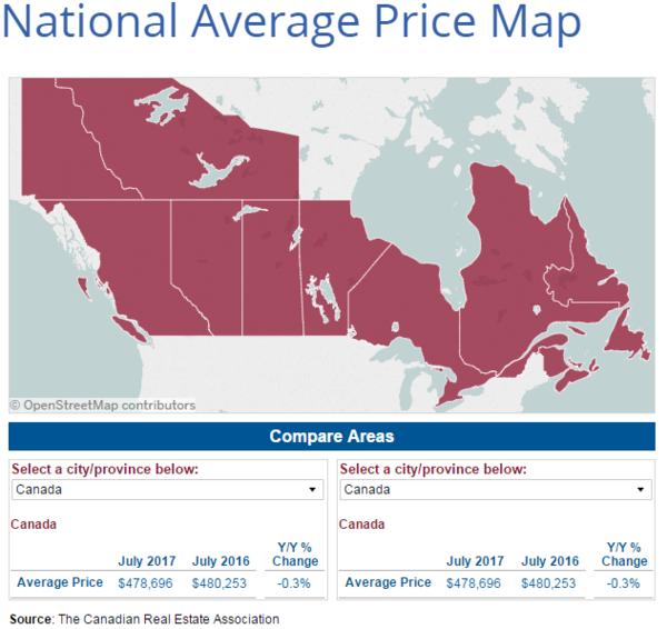 全國樓市權威報告發布 加拿大陷入低迷期?