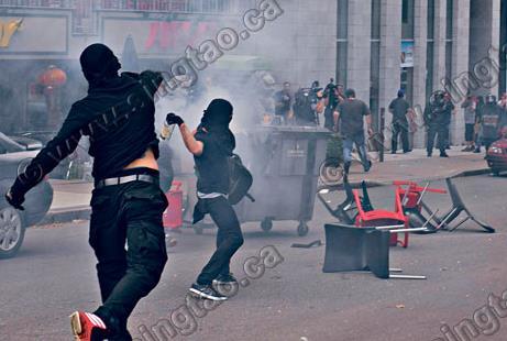 右翼反难民越境 魁省两派爆冲突