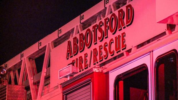 阿伯斯福火灾 一男离奇死在拖车内