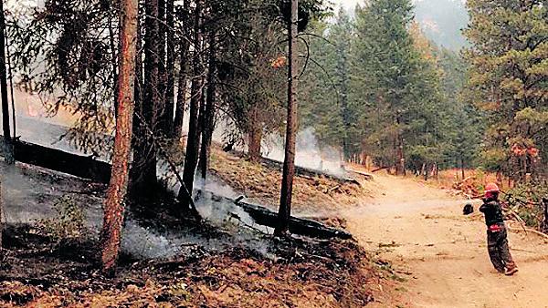 BC降雨有助控制山火 目前省内有162宗山火