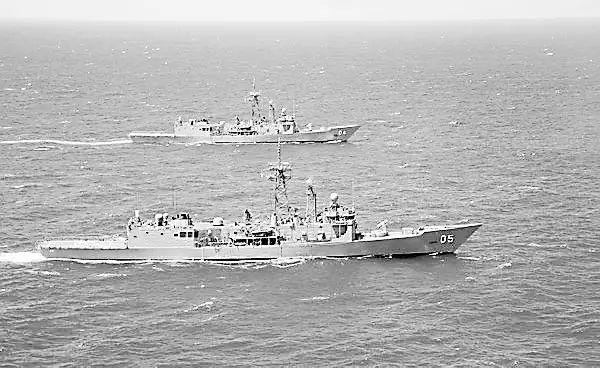 6艘澳军舰、1200名澳士兵正向南海进发