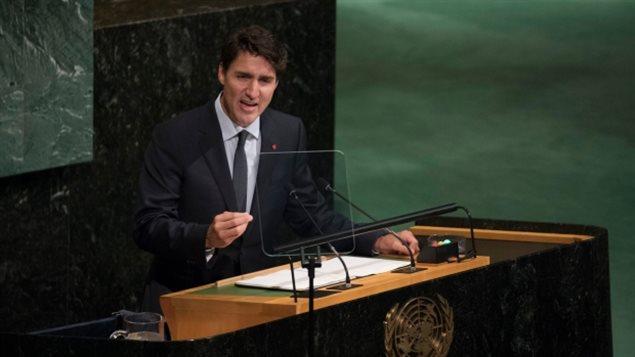 为啥总理特鲁多在UN大讲土著人问题