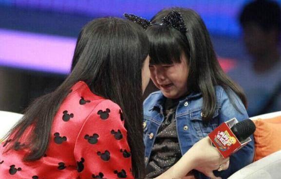 王诗龄上节目被说太胖当场大哭 李湘黑脸