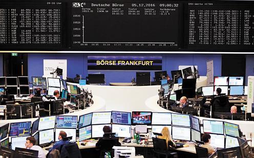 股市不捧德國大選的場 平均跌近1%漲勢面臨動搖
