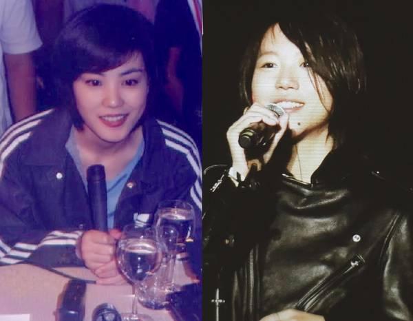 王菲年轻时的照片和现在的窦靖一模一样