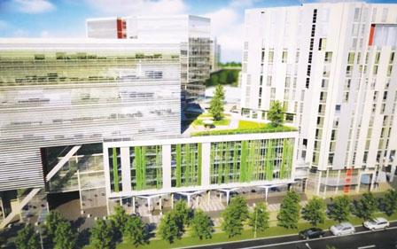 大溫辦公室空置率續微跌 列市國貿中心明年竣工