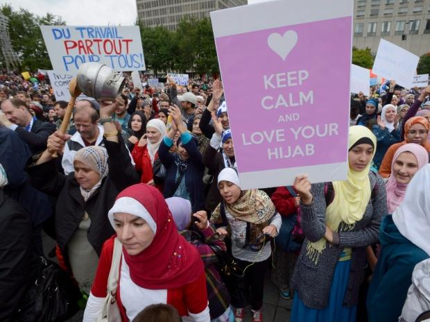 加拿大首例!竟然立法要求穆斯林摘掉面紗