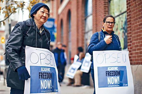 加拿大教职工罢工 中国留学生签证怎么办?