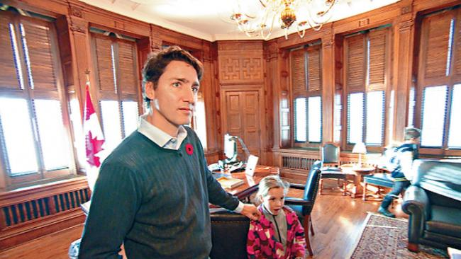 """总理办公室年耗830万 特鲁多被批""""大花筒"""""""