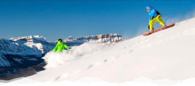 北美最大Lake Louise滑雪场开业啦!