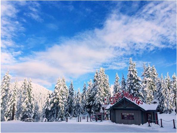 松鸡山周五开放!快翻出你们的滑冰、滑雪装备