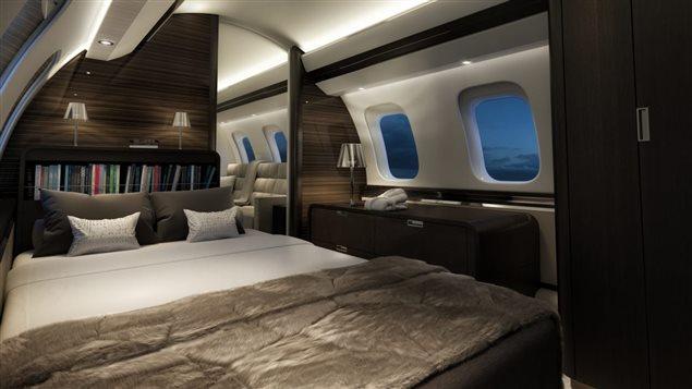 庞巴迪增聘 1000人,大型商务机内舱曝光