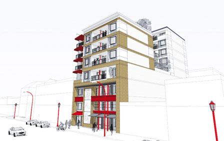 奇化街再有地皮兴建大楼  将建8层商住物业