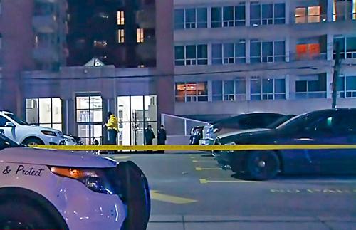 多伦多娱乐区停车场响枪 目击者称两车交火