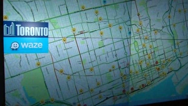 多伦多市现在与Waze App共享交通实时数据
