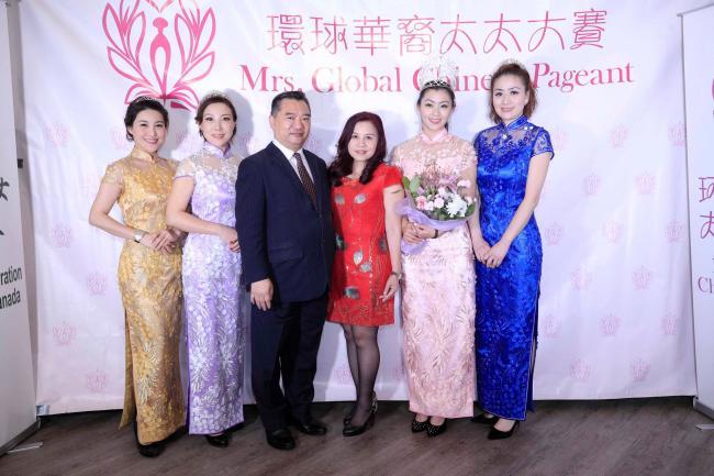 第五届太环球华裔太太大赛举行庆功宴 圆满收官