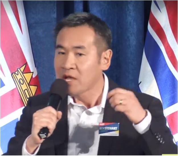 脱颖而出,李耀华已成BC自由党党领最佳人选