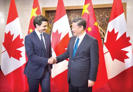 中国替特鲁多访华打圆场 强调两国进入新黄金时代