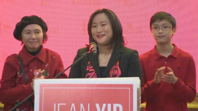 華裔議員遺孀當選國會議員 願繼續服務社區