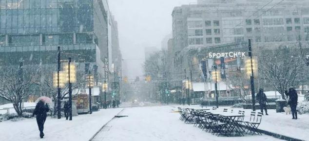 温哥华要下暴雪?!环境部发特殊天气警报