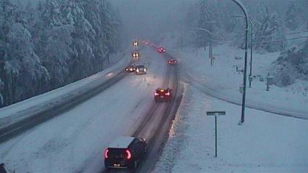 温哥华下了第一场雪,停电停课乱套了