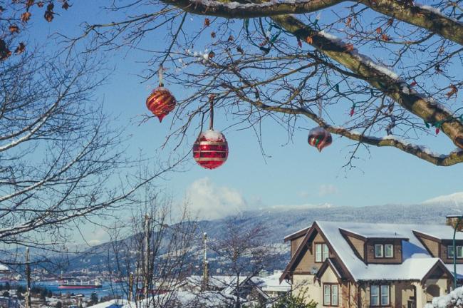 """温哥华或将迎来""""白色圣诞"""" !但是-9度冷到哭"""