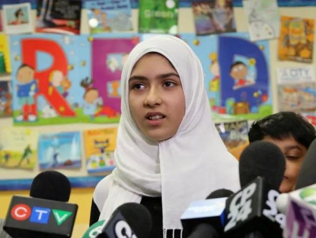 """""""剪面纱""""事件是谎言!11岁穆斯林女孩诋毁亚裔"""
