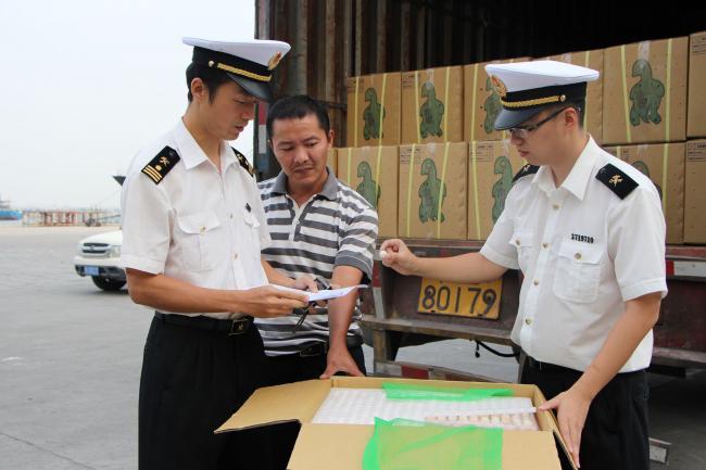 台媒:食品须标明中国台湾地区 否则大陆会销毁