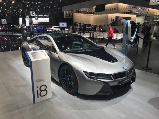 内部/动力升级 宝马新款i8系列正式亮相