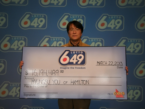 加拿大男子中彩票被怀疑有诈 25万奖金被冻结