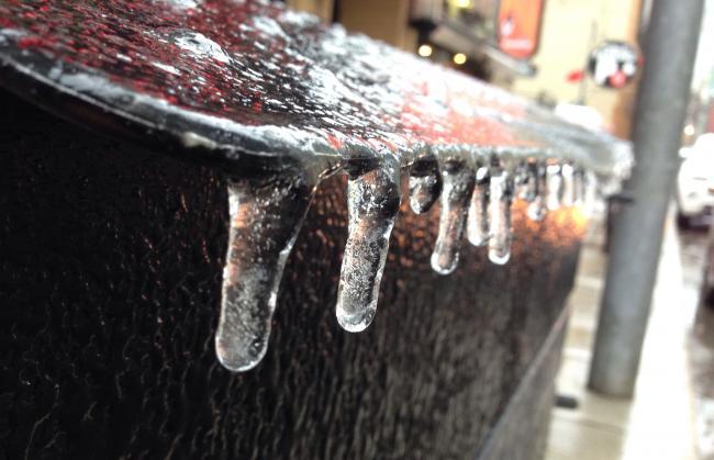 27km/h大风+冻雨!周一上班请做好防护措施