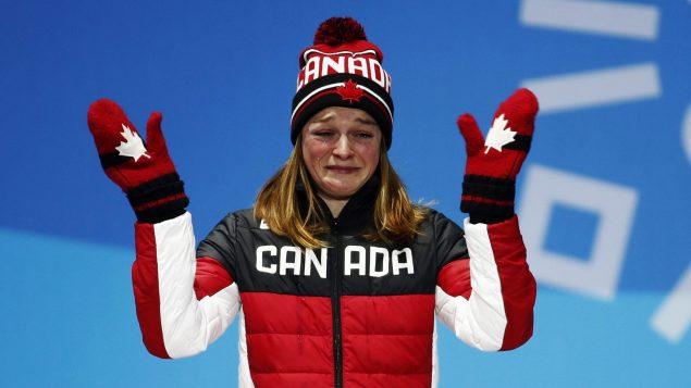 得到奥运铜牌 加拿大运动员哭得如此伤心